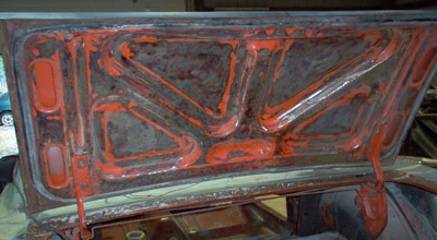 1965 Mustang trunk lid