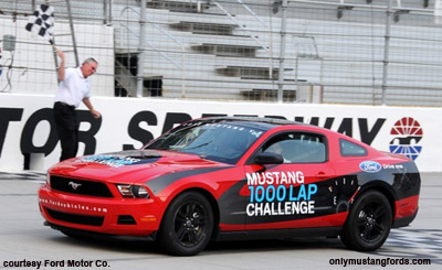 mustang 1000 lap challenge fuel economy