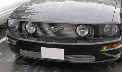 new mustang billet grille