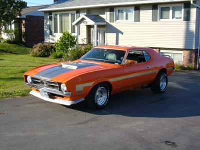 Nova Scotia Mustang Muscle !