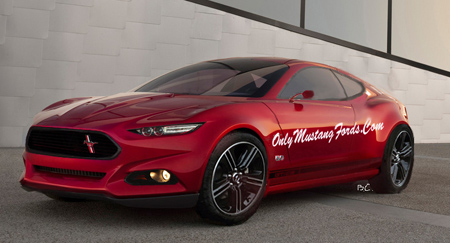 New mustang concept