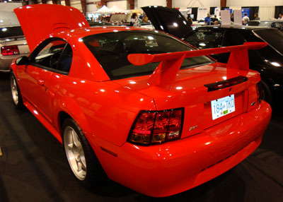 2003 mustang cobra rear wing