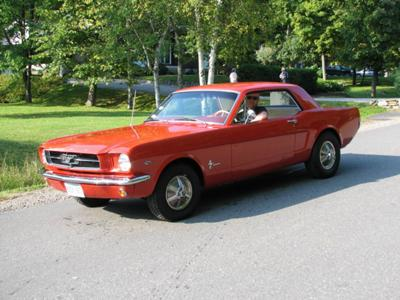 Pete's 1964 1/2 Mustang Coupe
