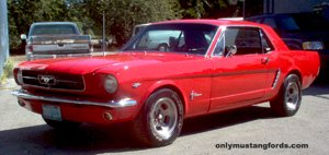 1965 mustang paint codes