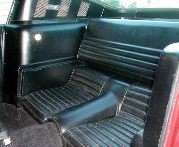 1965 mustang sports roof interior