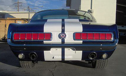 1965 shelby tail lights