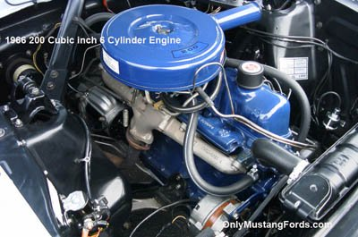 1966 ford 200cid 6 cylinder engine