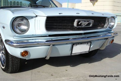 1966 mustang fastback grille