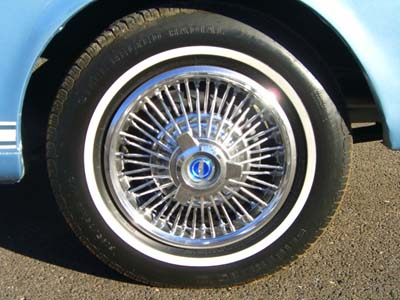 1966 mustang wire wheels