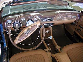 1968 shelby interior