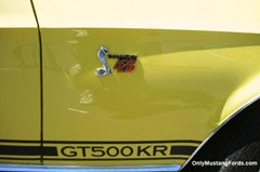 1965 ford shelby gt500kr stripes
