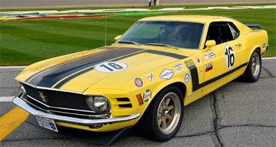 1970 Boss 302R Parnelli Jones