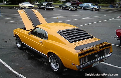 The 1970 mustang mach 1 for 1970 mustang rear window louvers