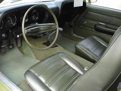 1970 boss 302 interior