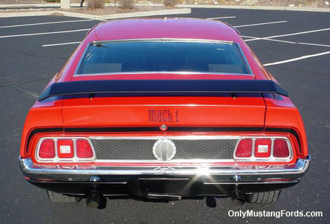 1971 ford mustang honeycomb