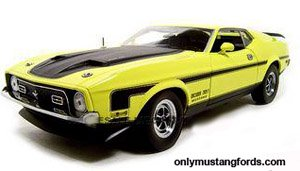 1971 boss 351 diecast mustang