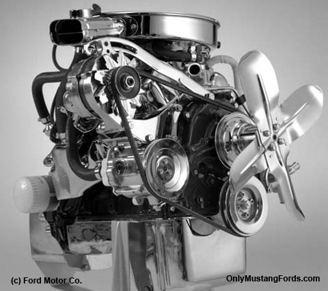 1974 ford 2.8 liter mustang engine