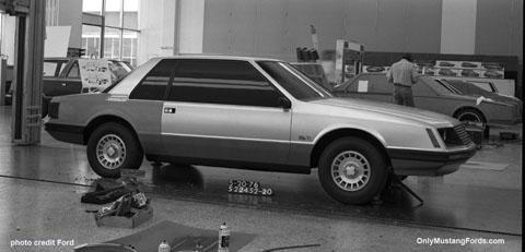 1979 ford mustang mockup
