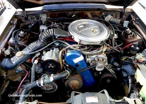 1980 2.3 liter mustang turbo engine