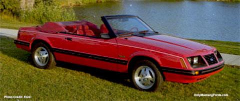 1983 mustang convertible