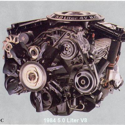 5 liter  Ford 1984