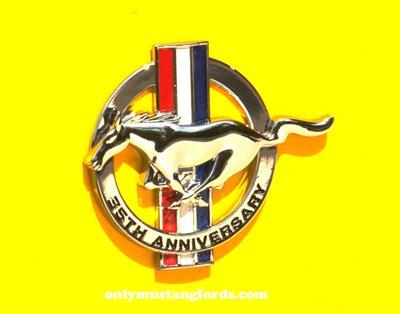 35th anniversary mustang logo