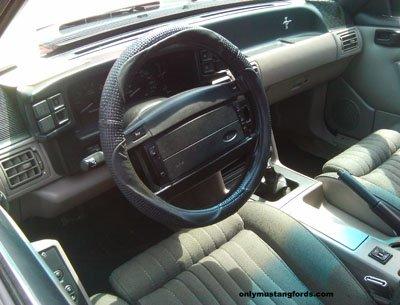 1993mustang interior blue