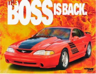 1995 boss mustang ad