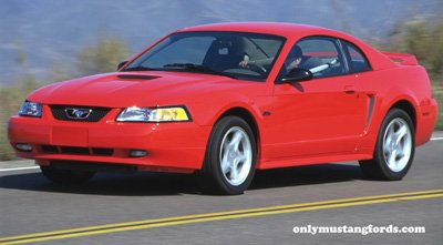 red 2000 mustang gt