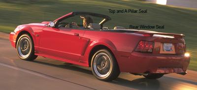 2001 Mustang Convertible Seal Leaks