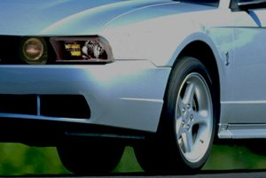 2003 Mustang with 2005 Lights