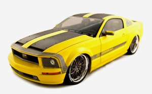 2005 mustang concept die cast model