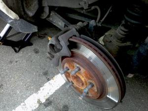 2005 Mustang rear brake replacement