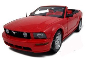 red mustang diecast convertible 2006