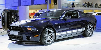 2010 shelby gt500 north american auto show