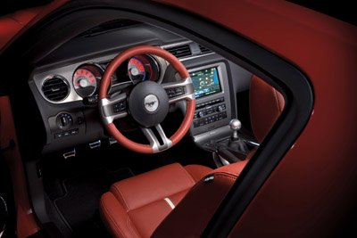 2010 Ford Mustang interior