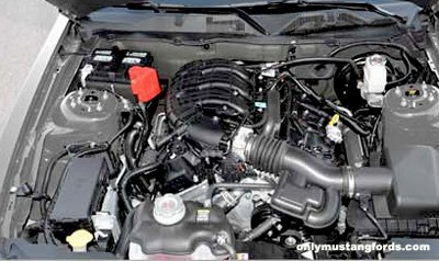 shelby mustang gts engine 2012