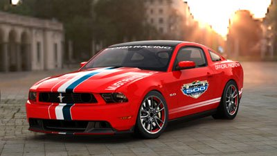 2011 Mustang Indy Pace Car limited run