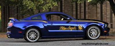 2012 Mustang Blue Angels edition