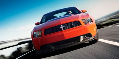 mustang boss grille