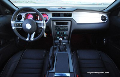 2012 shelby gts interior package styling
