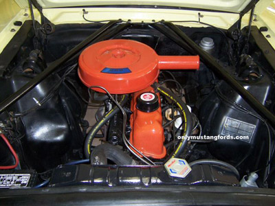 65-200 six cylinder engine mustang