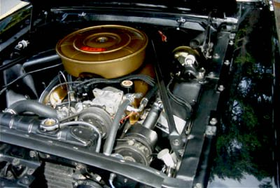 mustang 289 V8 engine