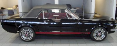 65 mustang gt convertible