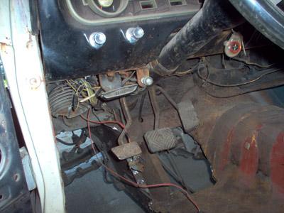 65 mustang floor pan rust removal