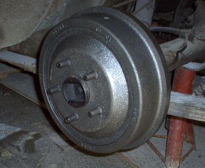 ford mustang rear brake drum