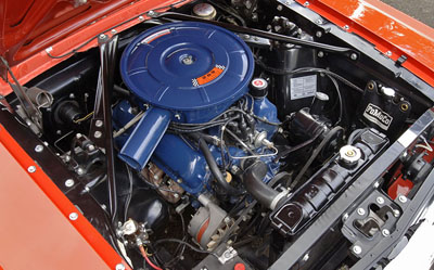 1966 mustang fastback v8 engine
