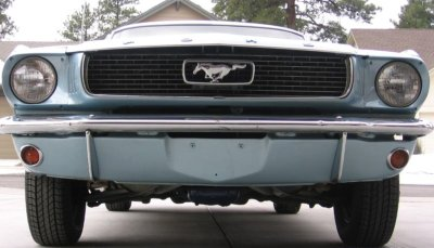 1966 mustang grille