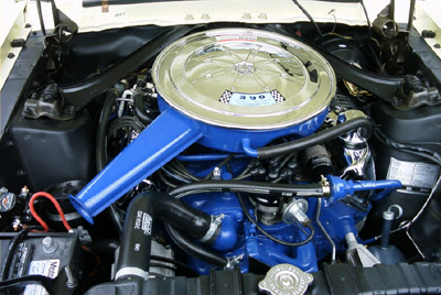 1967 Ford Mustang GT390 V8 engine