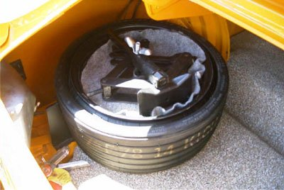 7 boss mustang space saver tire